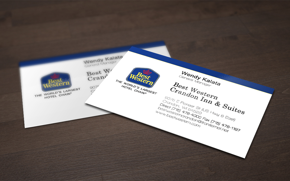 Best Western Business Cards