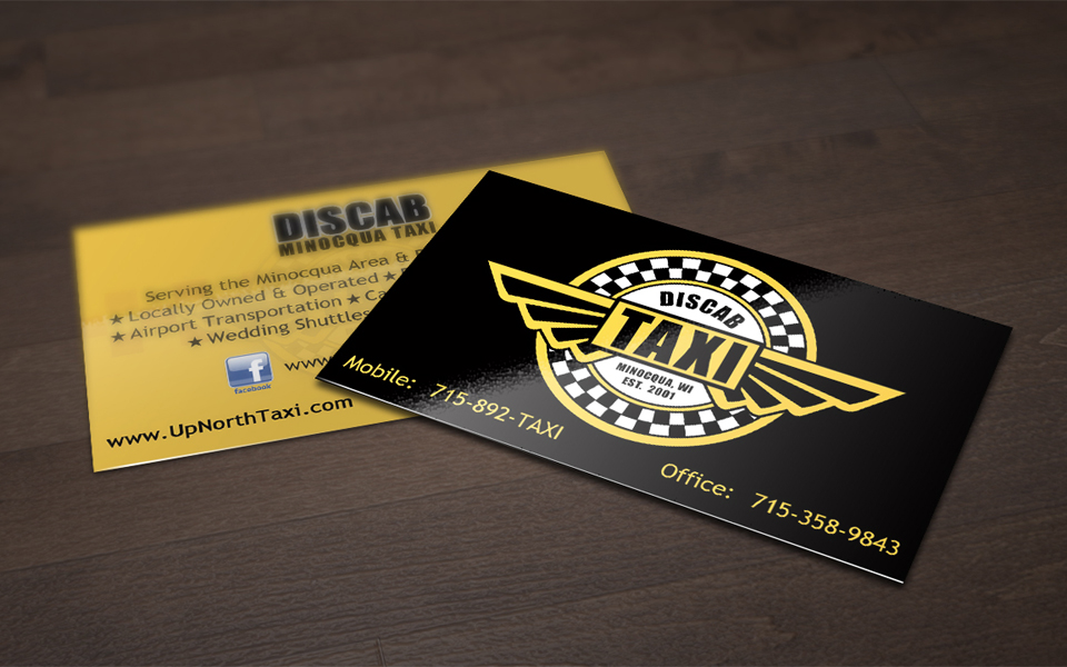 Discab Business Card Design
