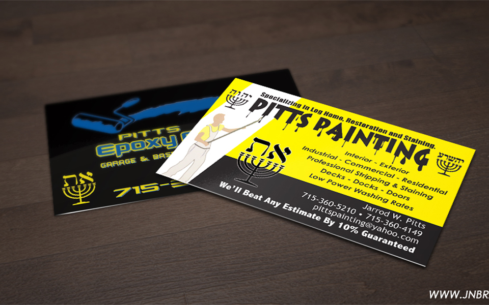 Pitts Painting Cards