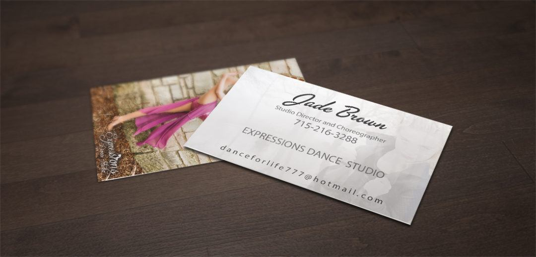 Expressions Business Card Design