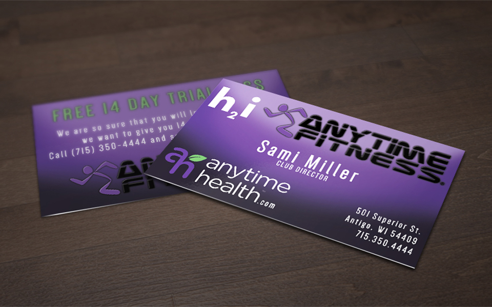 Anytime fitness business card design jn branding anytime fitness business card design colourmoves